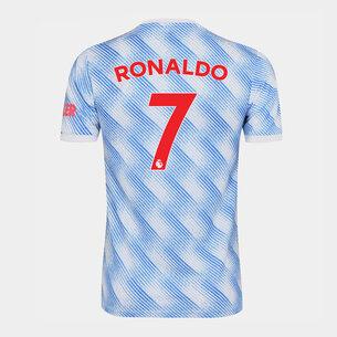 adidas Manchester United Away Ronaldo Shirt Kids