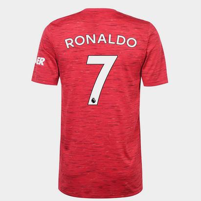 adidas Manchester United Home Ronaldo Shirt Kids 20/21