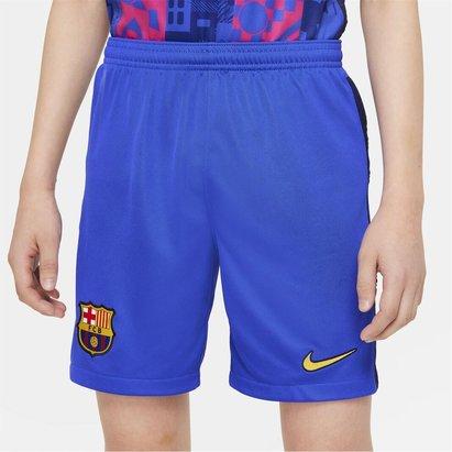 Nike Barcelona Third Shorts Kids 2021 2022