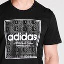 Box Linear, T-shirt noir pour homme