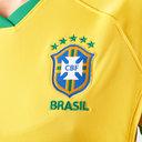 Maillot de Football Féminin manches courtes de l'Equipe du Brésil domicile 2019