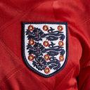 Maillot de l'équipe d'Angleterre extérieur rétro année 1989, manches courtes
