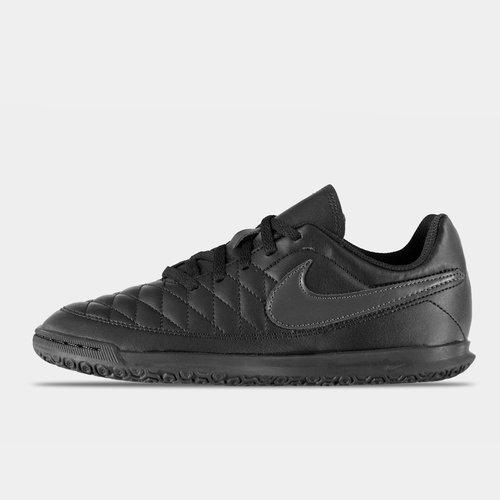 Chaussures de football pour enfants, Majestry IC en noir