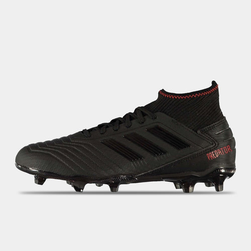 adidas Predator noir 19.3 FG pour hommes, crampons de football terrain ferme