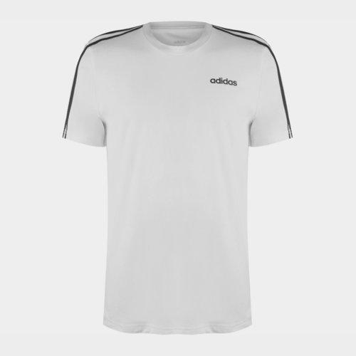 T-shirt adidas pour hommes en blanc