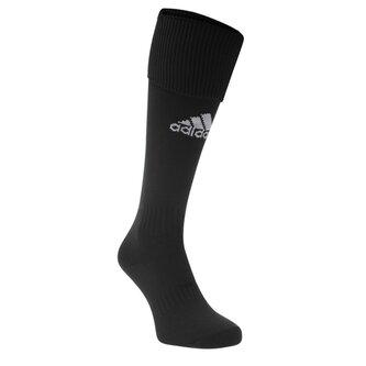 Chaussettes de football pour enfants adidas Santos en noir