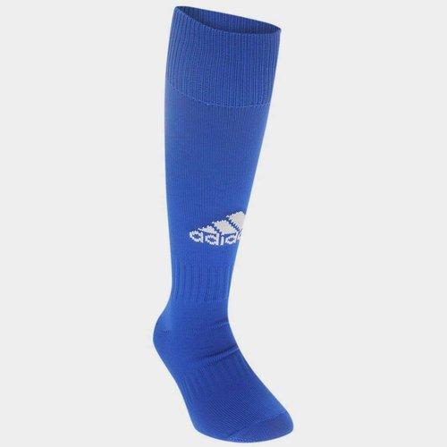 Chaussettes de football pour enfants adidas Santos en bleu royal