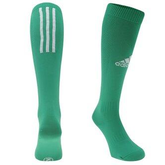 Chaussettes de foot pour ado adidas Santos en vert