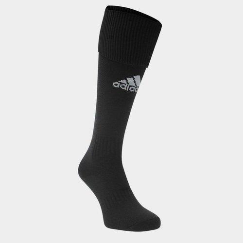 Chaussettes de foot pour enfants adidas Santos, en noir