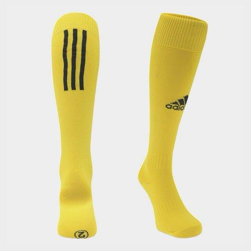 Chaussettes de football pour hommes adidas Santos en jaune