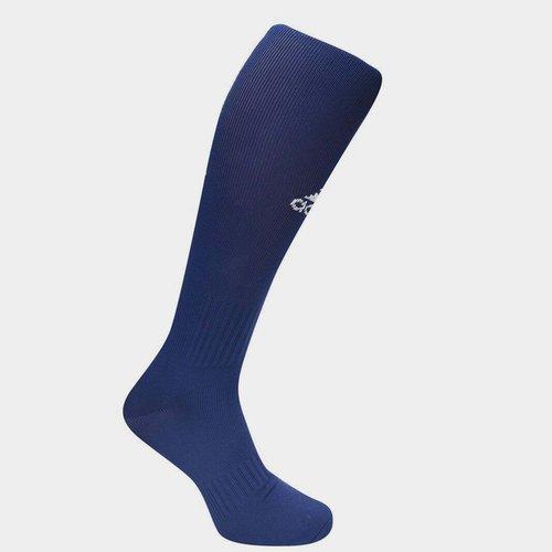Chaussettes de football pour hommes, adidas Santos en bleu marin