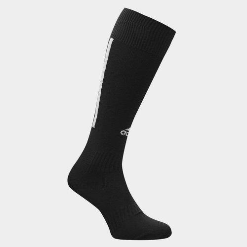 Chaussettes de football pour enfants, adidas Santos en noir