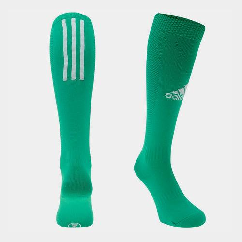 Chaussettes de football pour hommes adidas Santos en vert