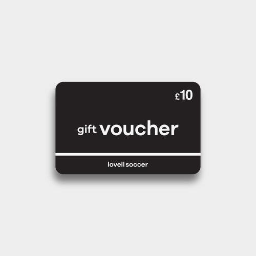 Lovell Football £10 - Cheque Cadeau Virtuel