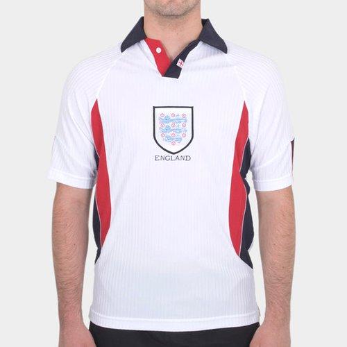 England 1998 Home Retro Football Shirt