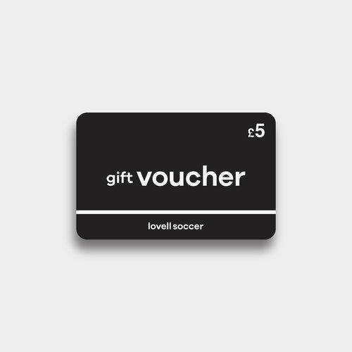 Lovell Football £5 - Chèque Cadeau Virtuel