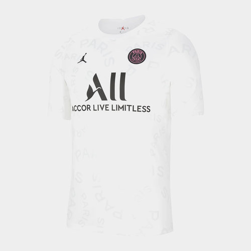 Paris Saint Germain x Jordan Pre Match Shirt Mens