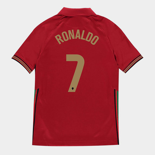 Portugal Cristiano Ronaldo Home Shirt 2020 Junior