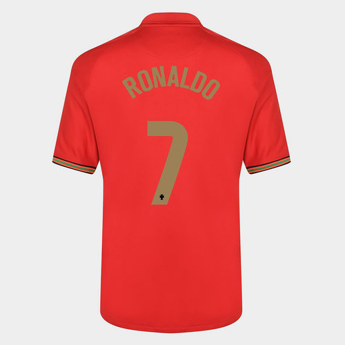 Portugal Cristiano Ronaldo Home Shirt 2020
