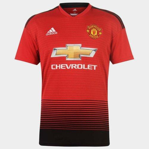 Manchester United 18/19 - Maillot de Foot Réplique Domicile