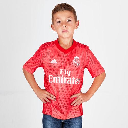 Real Madrid 18/19 - Maillot de Foot 3ème Enfants