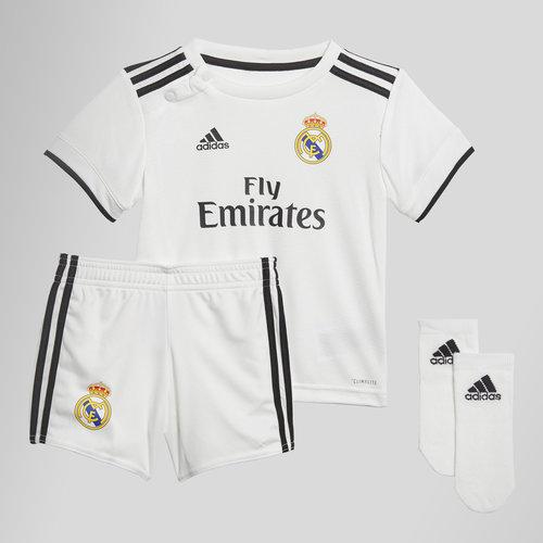 Real Madrid 18/19 - Maillot de Foot Domicile Bébés