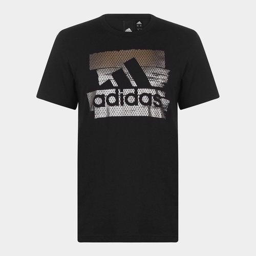 Badge of sport Foil Print - Tshirt Loisirs