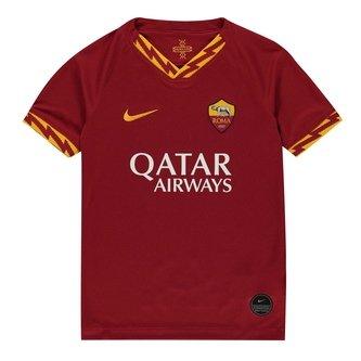 AS Roma 2019/2020 domicile, Réplique manches courtes du maillot de Football pour enfants