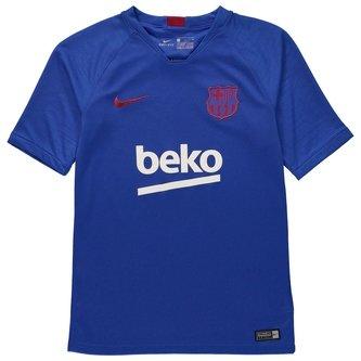 T-shirt Strike à manches courtes du FC Barcelone 2019/2020 pour enfants