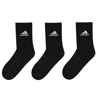 Chaussettes noires molletonnées Crew, Lot de 3 paires